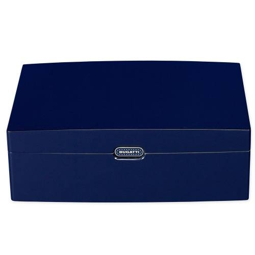 Limited Edition 100-stick Humidor, Blue Lacquer