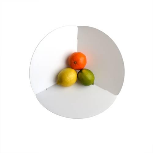 Trièdre-Circle, White