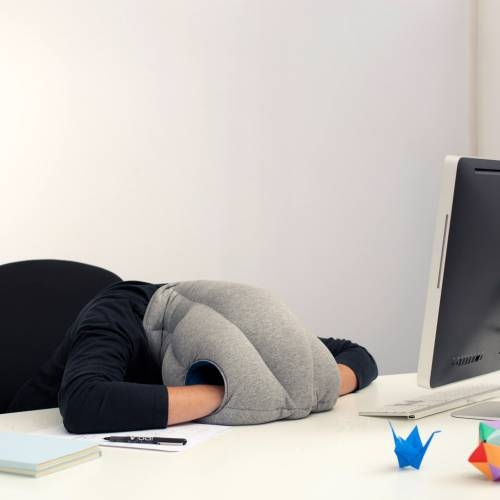 OSTRICHPILLOW MIDNIGHT GREY