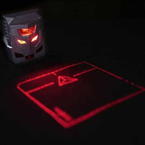 Laser Projection Mouse, Charcoal Black