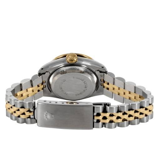 Rolex Ladies Two Tone Datejust Watch
