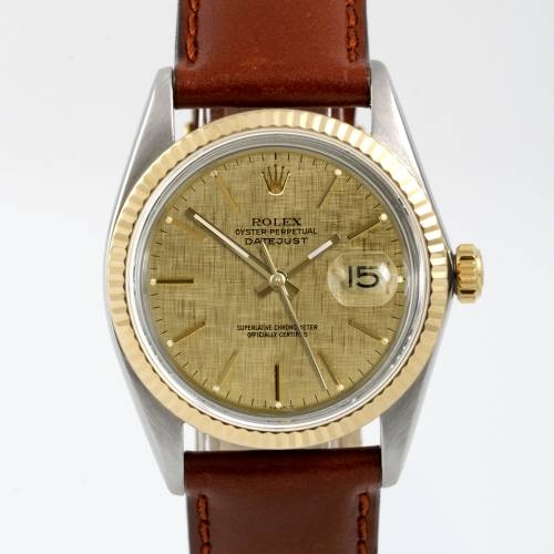 Rolex Men's Two Tone Datejust Watch