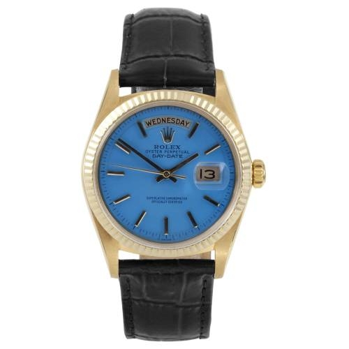 18K Yellow Gold Day Date