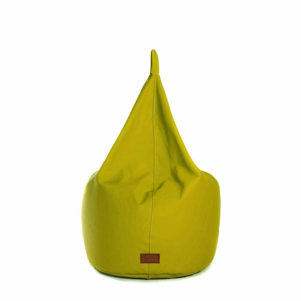 BASTILLE Lime Green   Lazy Life Paris   Pear-shaped bag