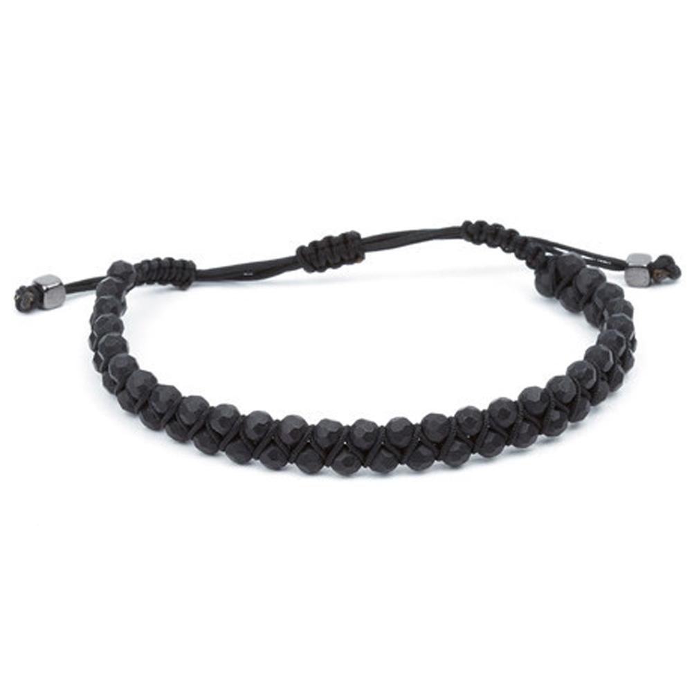 Black Boss Noir Cord Bracelet - Buttigo