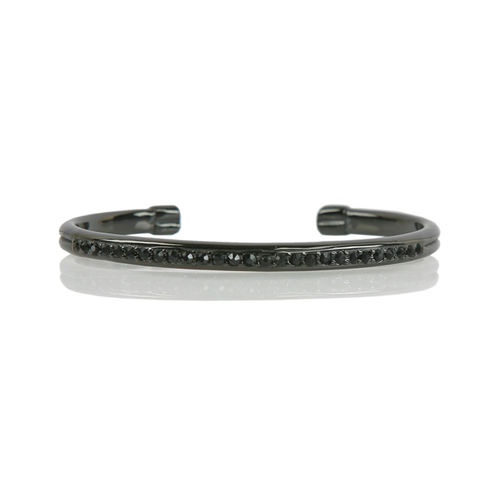 Black Ankara Stainless Steel Bracelet - Buttigo