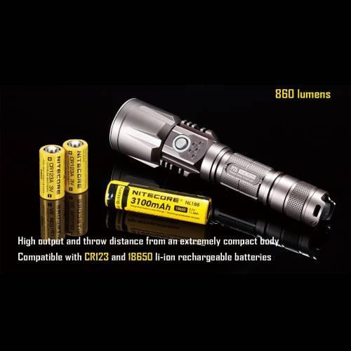 NiteCore  P25 Smilodon Rechargeable LED Flashlight