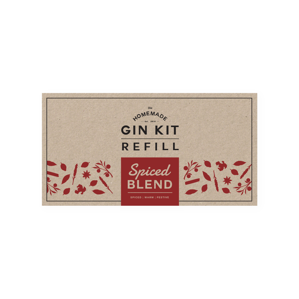 Spiced Blend Refill Tins   The Homemade Gin Kit