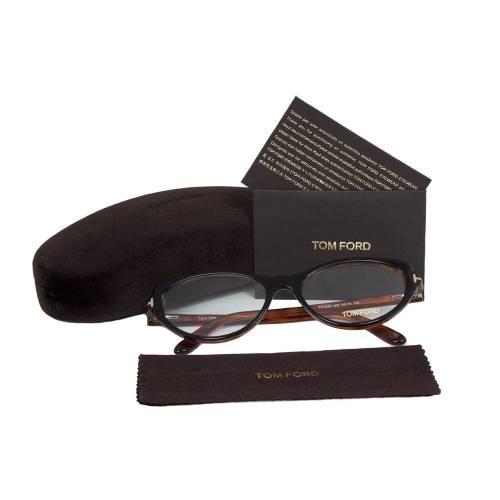 Black/Tortoise Brown Eyeglasses Frame | Size 55