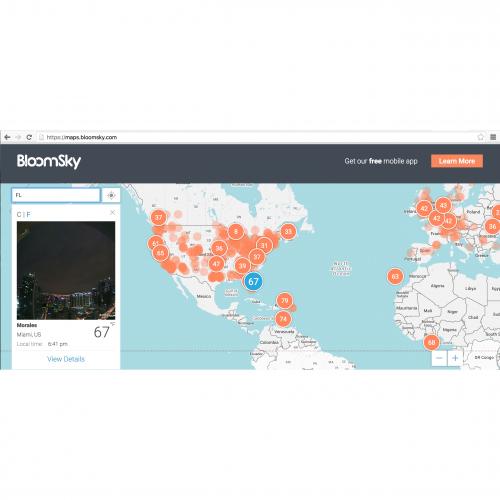 Smart Weather Station with Sky Camera | BloomSky