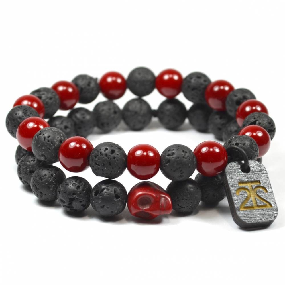 Tag Twenty Two | 2 Pack Red Lava Rock Set