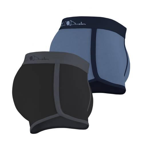 Kim Denzler 2-pack Boxer Briefs | Blue, Black/Grey