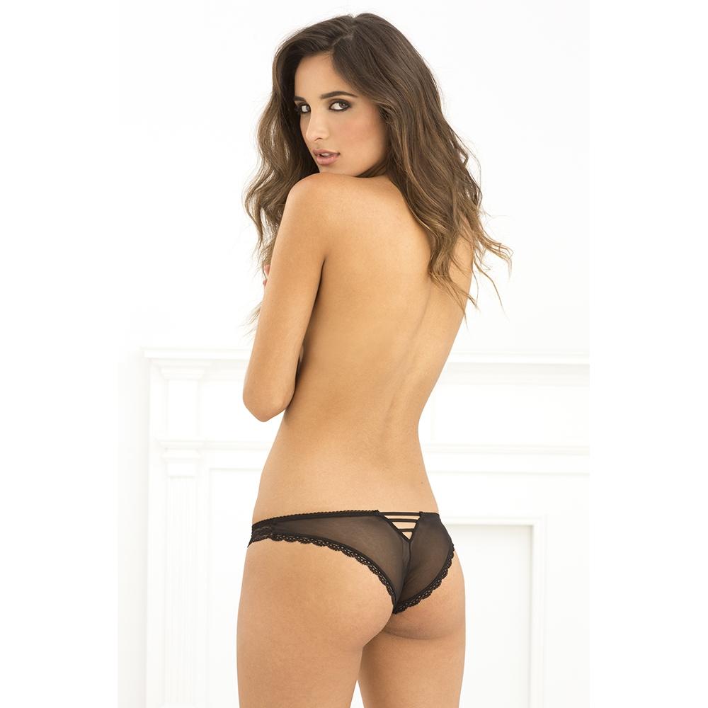 Rene Rofe   Lace V-back Panty