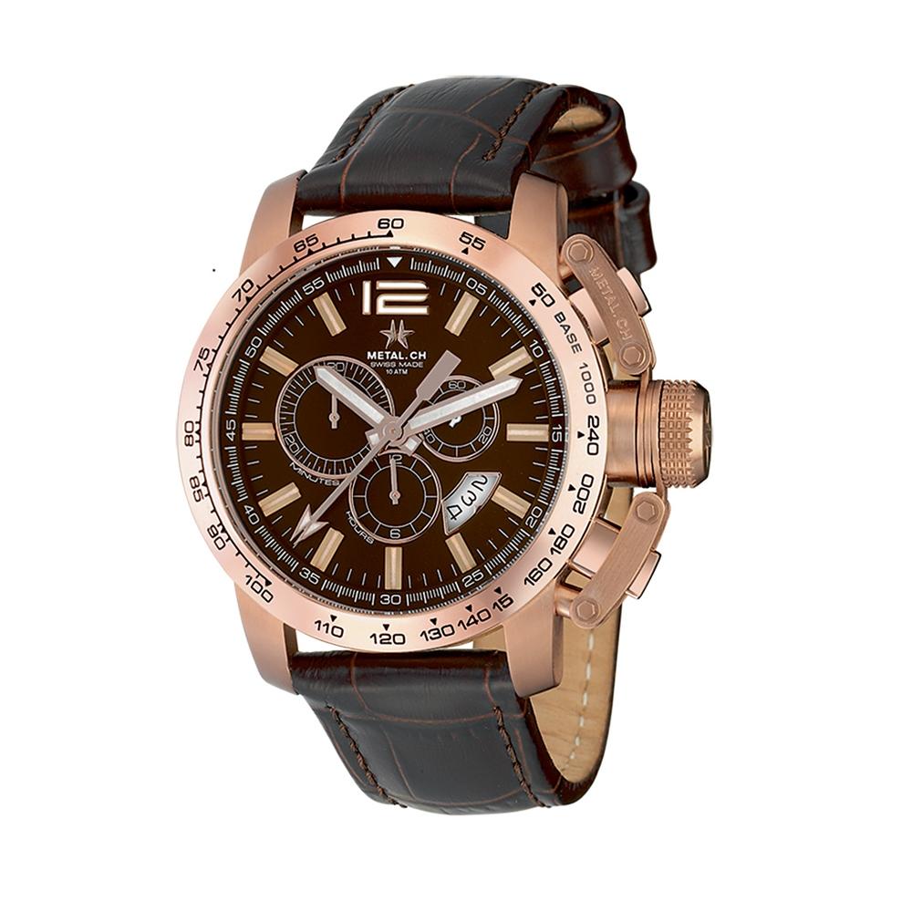 Metal CH Watch   Chronosport 4340
