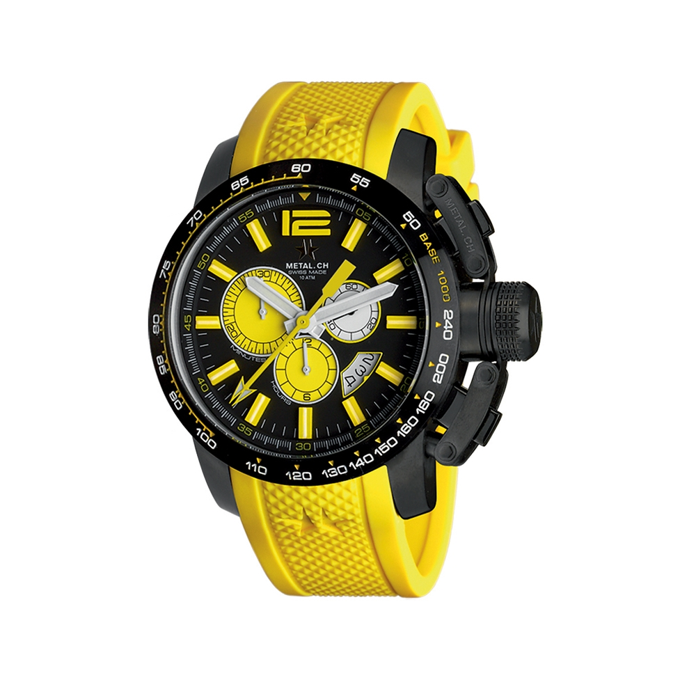 Metal CH Watch | Chronosport 4469