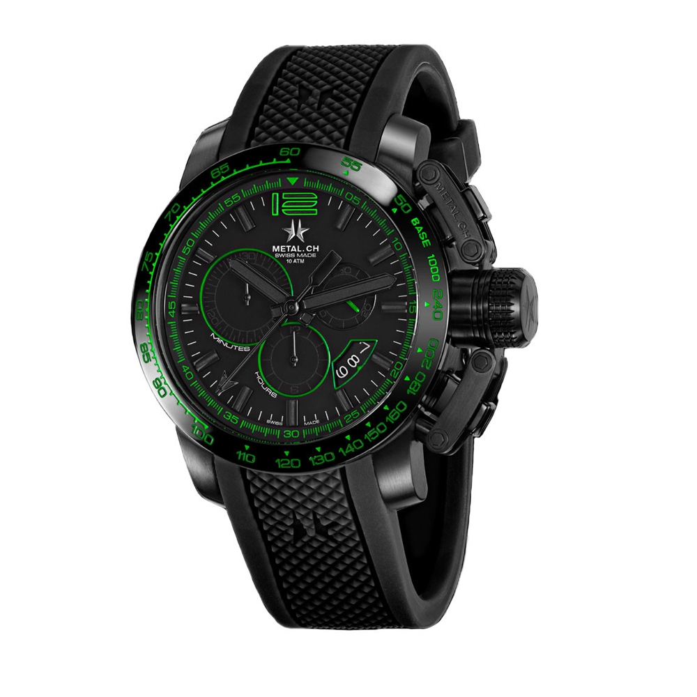 Metal CH Watch | Chronosport 4480