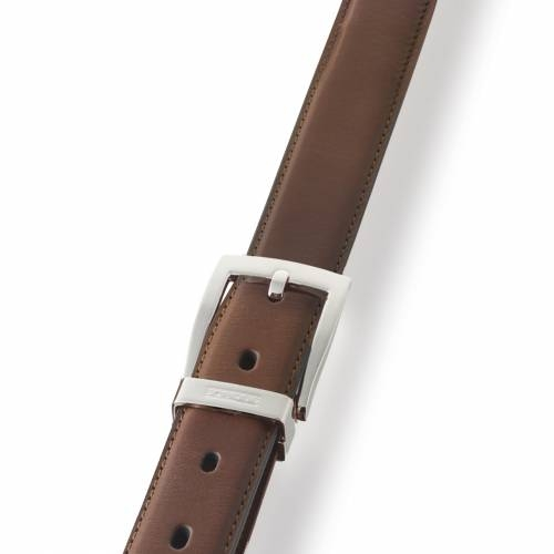 Brown Classic Leather Belt | Dalvey