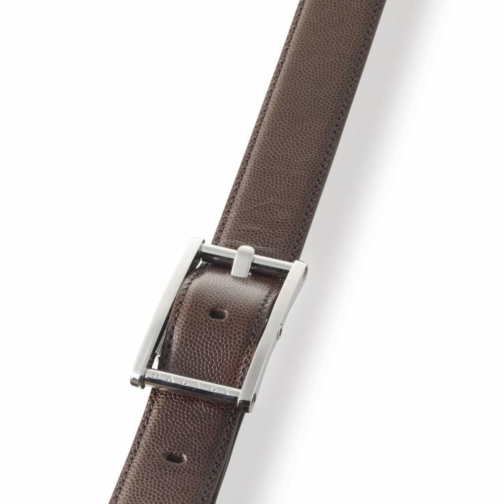Brown Statesman Leather Belt | Dalvey
