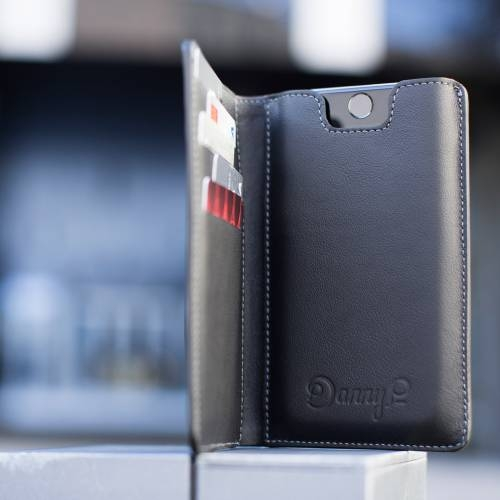 Black iPhone Wallet case
