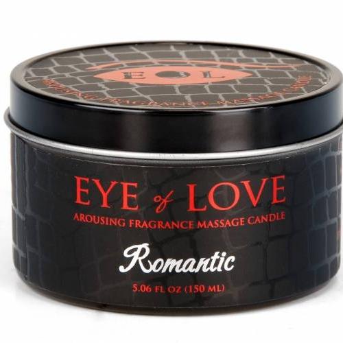 Romantic Massage Candle   Eye of Love