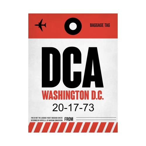 NaxArt | DCA Washington Poster