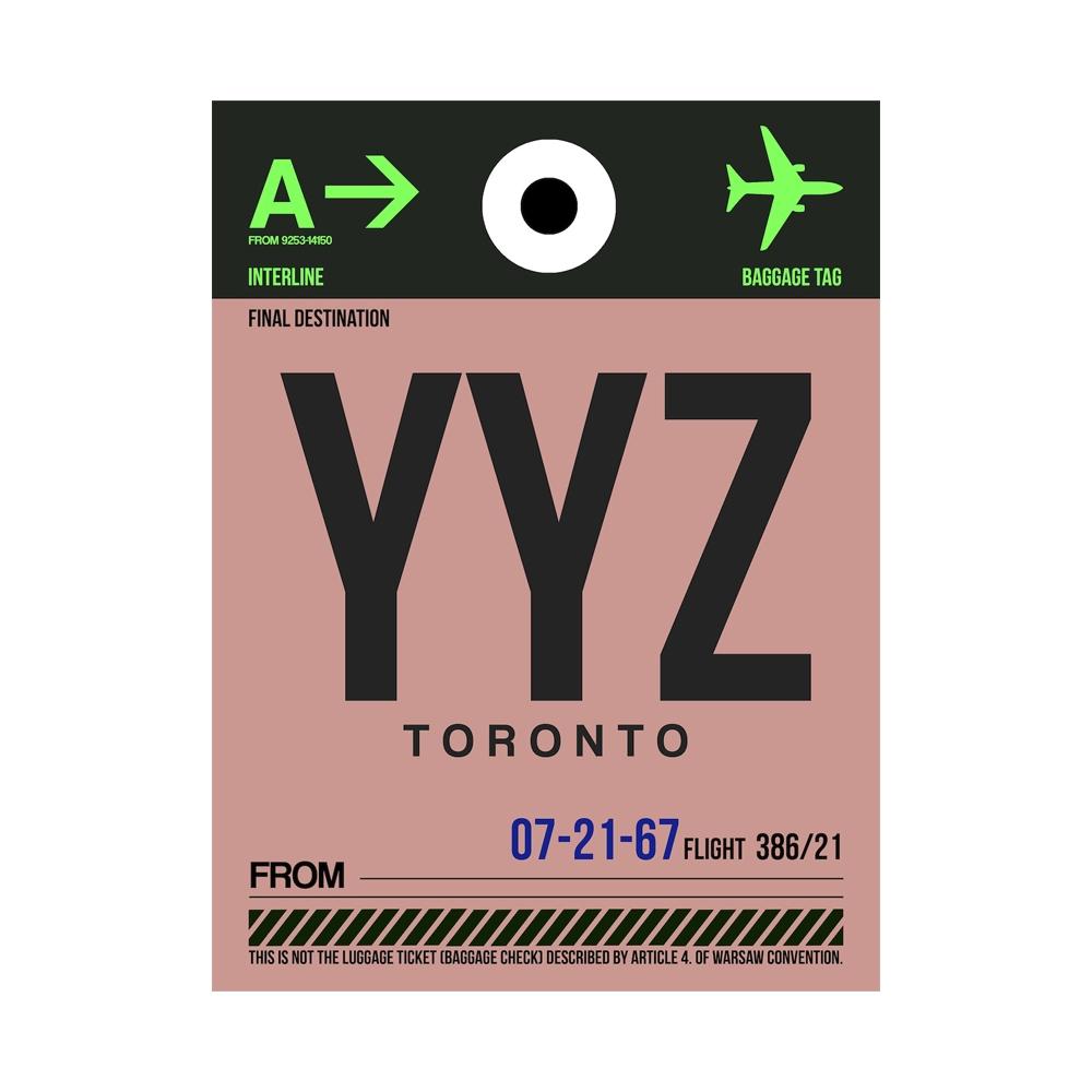 NaxArt | YYZ Toronto Poster