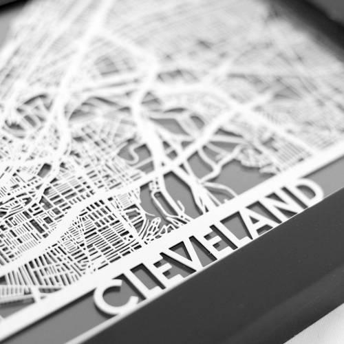 Cleveland | Cut Maps