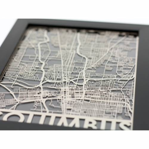 Columbus | Cut Maps