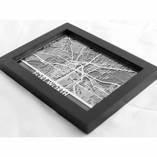 Fort Worth | Cut Maps
