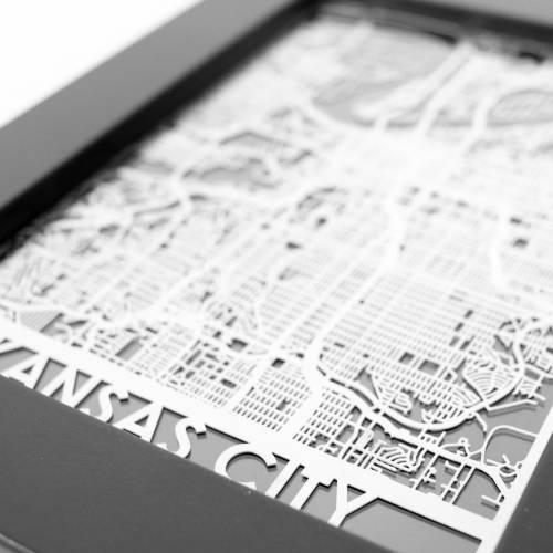 Kansas City | Cut Maps