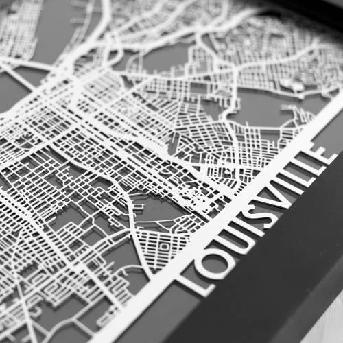 Louisville | Cut Maps