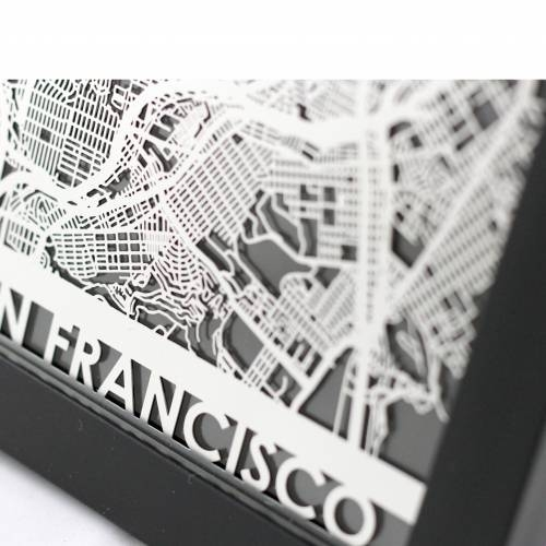 San Francisco | Cut Maps