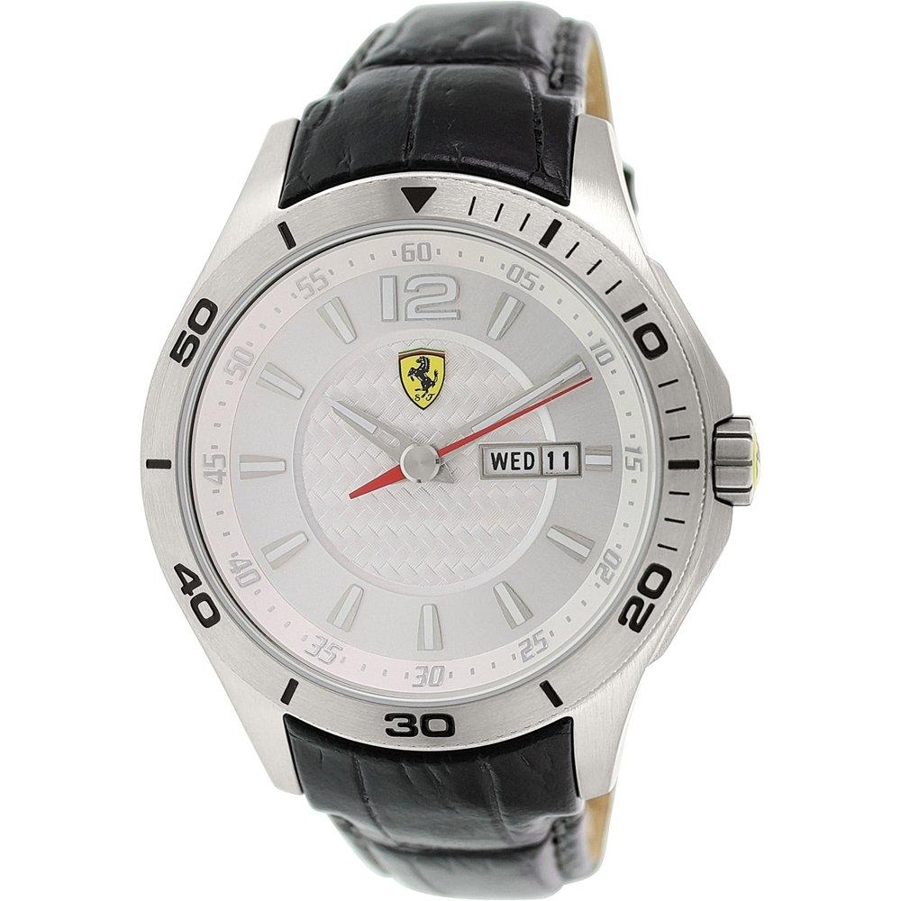 Ferrari Men's Scuderia Silver Watch