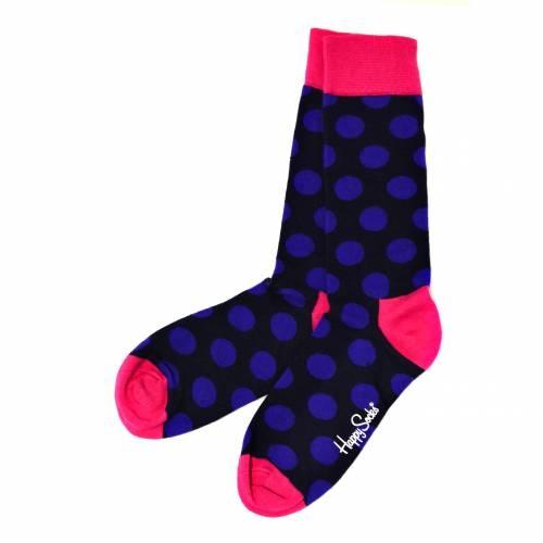 Socks | Blue Polka Dots, Color Block | Happy Socks