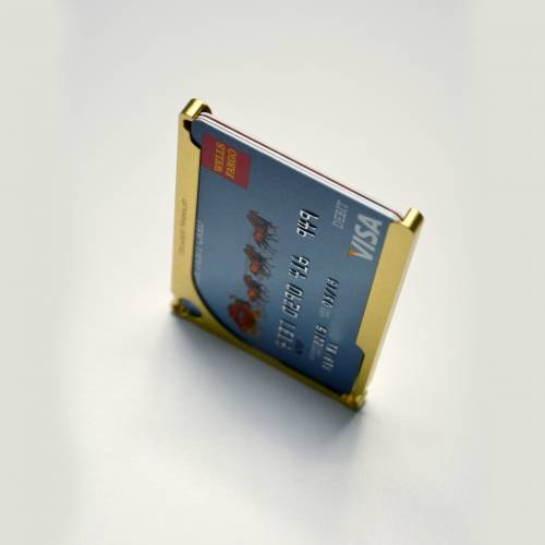 DM1: 4-Card Aluminum Wallet   Decadent Minimalist