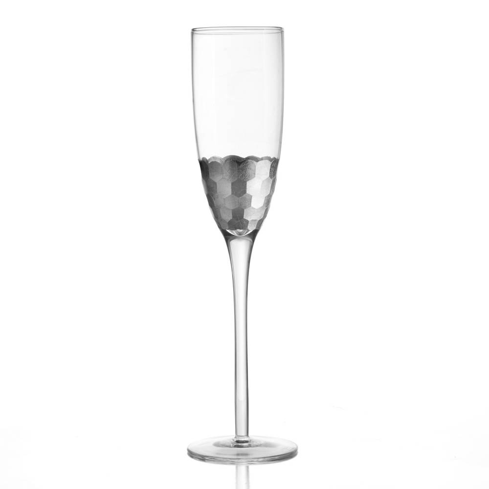 Daphne Silver Set of 4 Flutes | Jay Companies