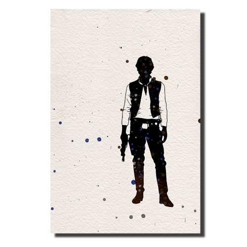 Han Solo Watercolor