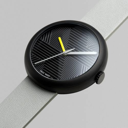 Charcoal/Grey Hach   Objest Watches
