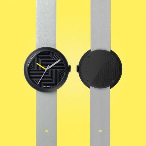 Charcoal/Grey Hach | Objest Watches