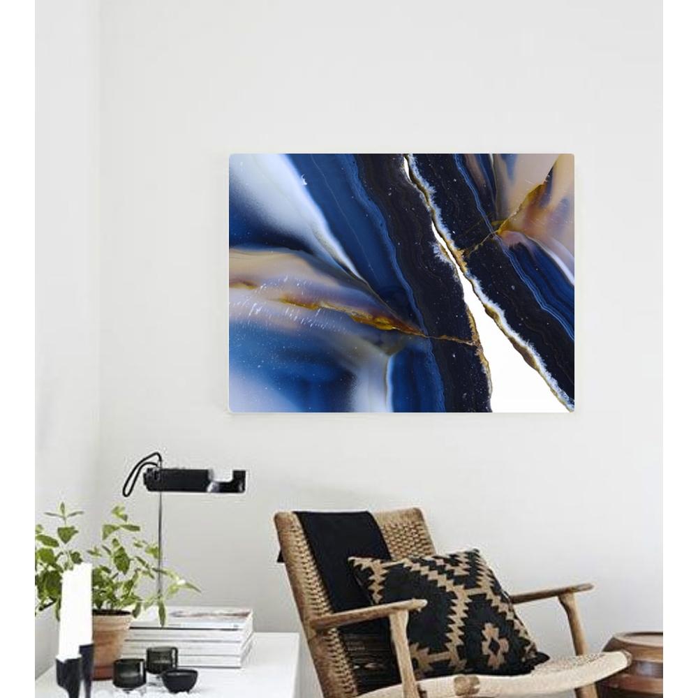 Into The Blue Canvas Print   Vivienne East
