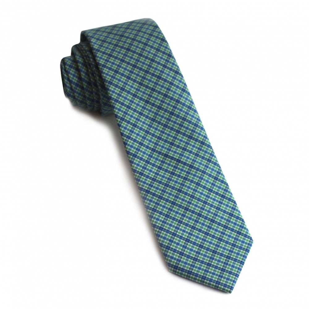 White Collar Plaid Tie   The Tie Bar