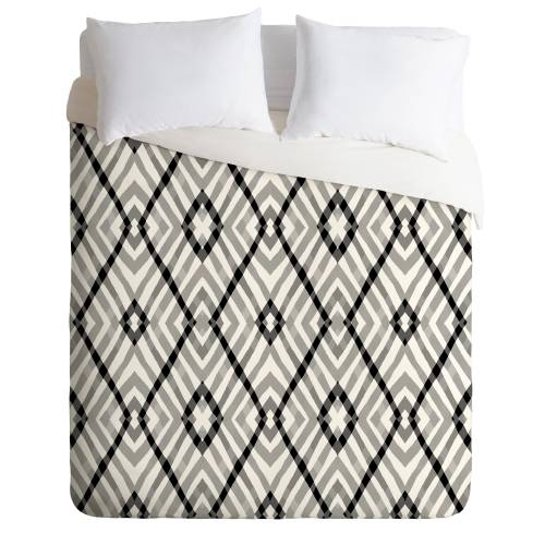 Budi Kwan Links Mono Duvet Cover