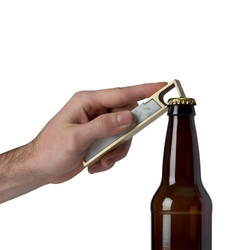 Profile Marble Bottle Opener | Fire Road