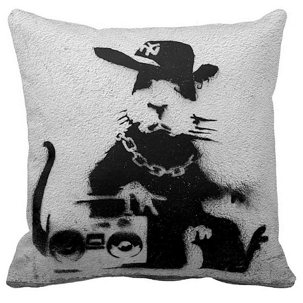Gangsta Rat | Banksy Artwork | iLeesh