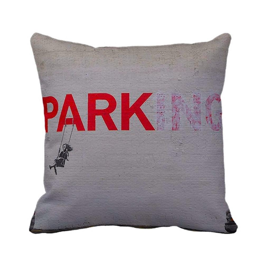 Parking Swing Girl | Banksy Art | iLeesh