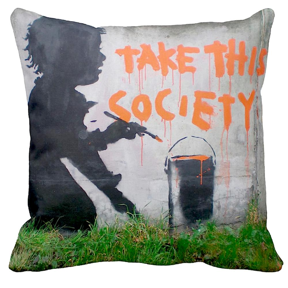 Take This Society | Banksy Art | iLeesh