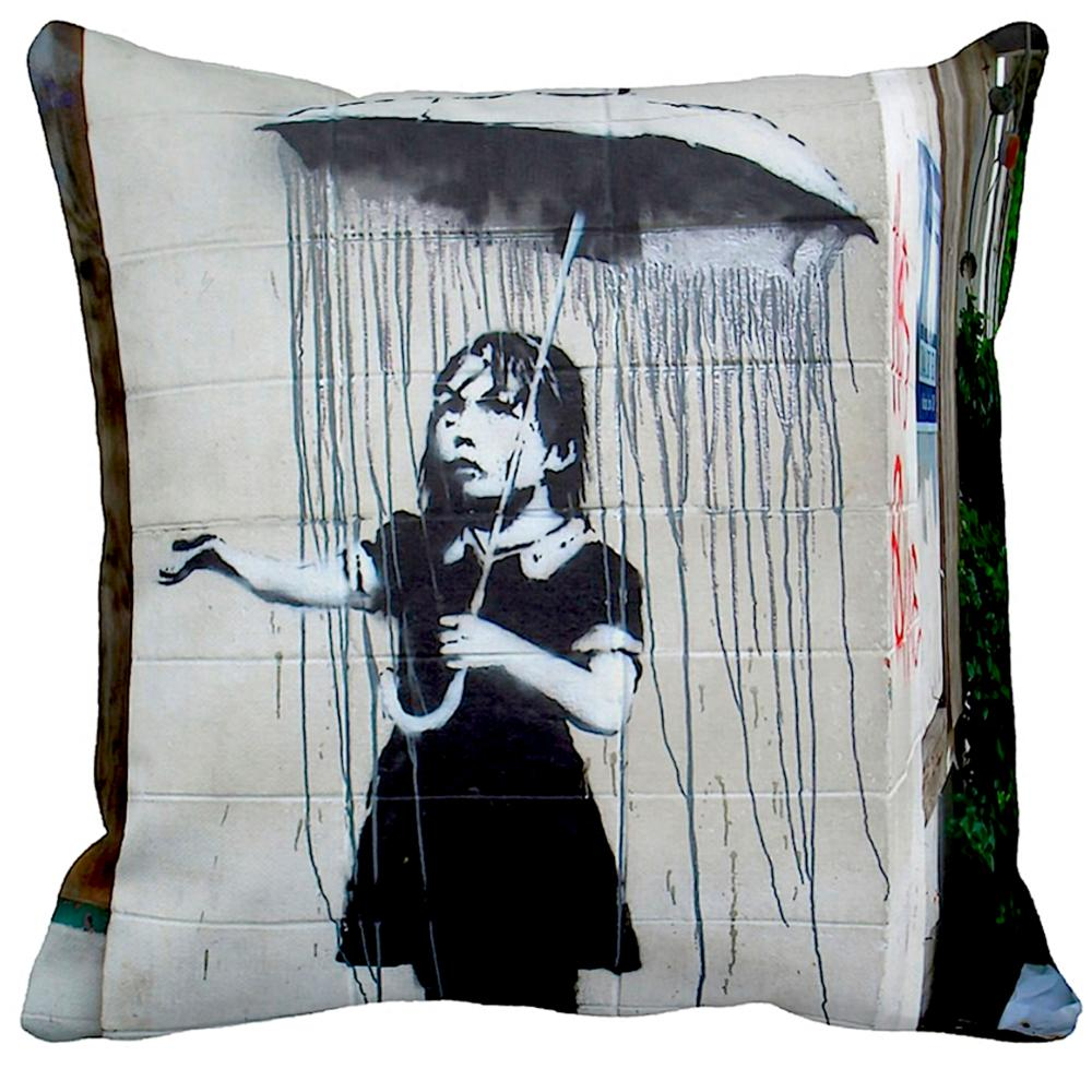 Umbrella Girl New Orleans | Banksy Art | iLeesh