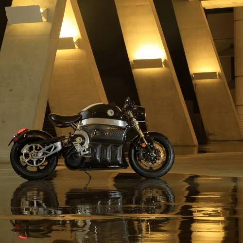 Sora Electric Motorcycle   Black