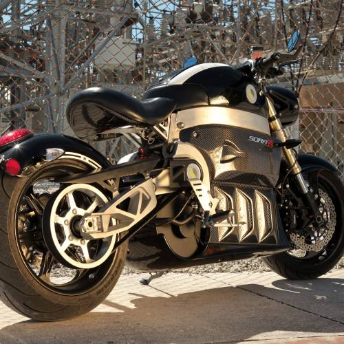 Sora Electric Motorcycle | Black