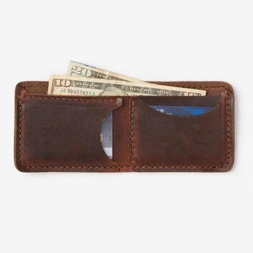 Bifold wallet waltzing matilda accessories for Yamaha leather wallet